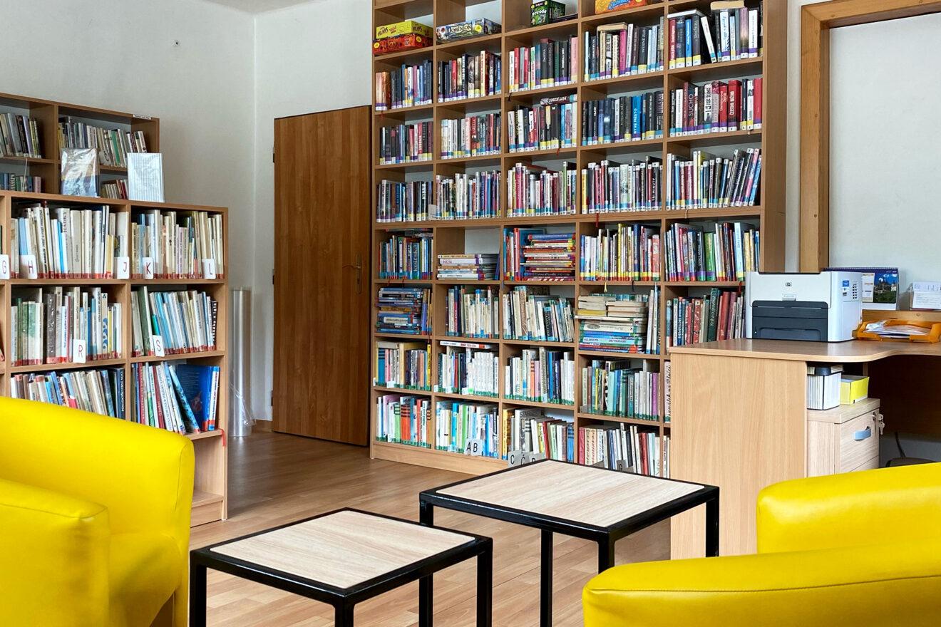 Knihovna obce Malá Bystřice